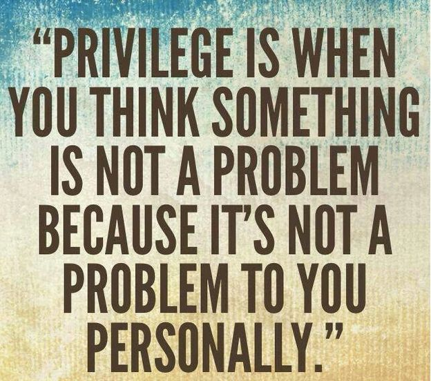 white priviledge White privilege this term - almost universally used by progressives – evokes  very different feelings and response across the political spectrum on one hand.